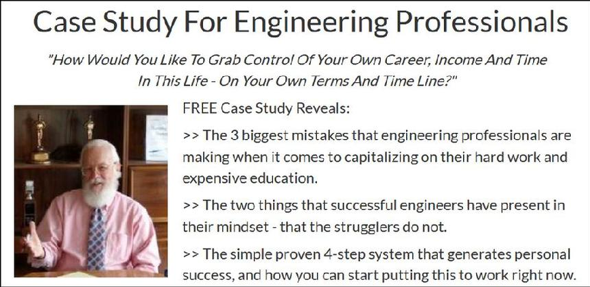 How Engineers who are stressed in their profession can achieve their own dream guided by a chemical engineer who did it.
